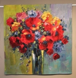 Poppy Bouquet small 98 x 100 cm