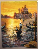 Day Ends at Venice Large 160 x 208 cm (do rámu)
