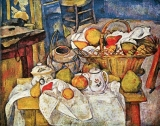 Basquet on table by Cézanne 98 x 77cm