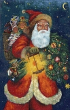 Santa Claus 65 x 101  (do rámu)