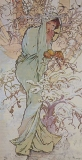 Mucha Winter 64 x 130