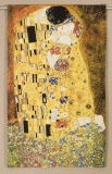 Gustav Klimt - Kiss big 122 x 204 (do rámu)