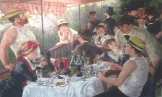 Renoir - Lunchean of Boating Party MEDIUM 146 x 97cm