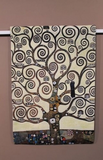 Gustav Klimt - Lebensbaum - Tree part small 69 x 100cm (do rámu)