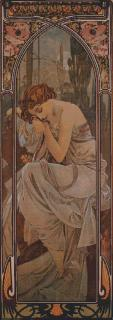 Mucha - Nuit small 35 x 97 (do rámu)