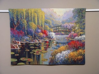 Giverny Pond small 98 x 73cm (do rámu)