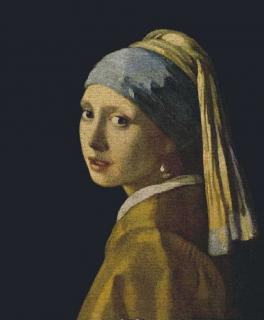Johannes Vermeer - Girl with the Pearl Earring 66 x 80