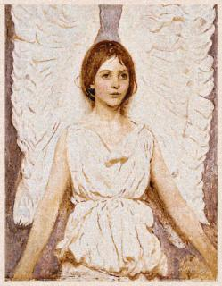 Angel Thayer 73 x 94