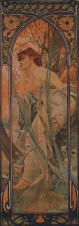 Mucha - Soir medium 55 x 155